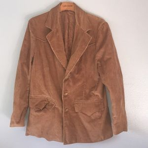 Sullivan brown corduroy vest